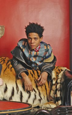 basquiat... i've been to his grave in brooklyn! <3