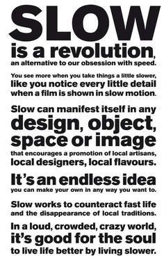 slow.