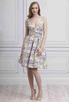 Bridesmaid dress: Monique Lhuillier - Spring 2013 available at b.Hughes Bridal Formal in Nashville