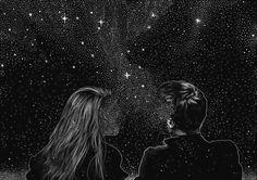 Junto a suas estrelas construo um novo universo.