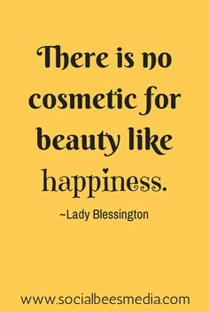 Be happy, wear a smile - it's the best accessory. #quote #beauty