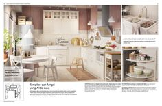 Brosur Dapur Metod 2017 Kitchen Sets, Kitchen Island, Ikea, Floor Plans, Table, Furniture, Home Decor, Diy Kitchen Appliances, Island Kitchen