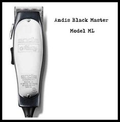 Andis Black Master Model ML Andis Clippers, Model, Black, Black People, Scale Model, Models, Template, Pattern