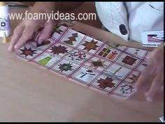 ¿Cómo hacer texturas diferentes en foamy? 2/3 - Artículos sobre manualidades en foamy Felt, Diy Crafts, Flowers, Diy, Ideas, Card Stock, Natural Rubber, Characters, Felting