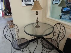 Cute bristo table found at Once New $45