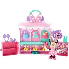 "Fisher-Price Disney's Minnie Mouse Sparkle n Spin Fashion Bow-tique - Fisher-Price - Toys""R""Us"