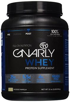 Gnarly Whey Vicious Vanilla 2 lb. * Click image for more details. #PostWorkoutNutrition