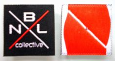 Bespoke Woven Labels Black, White & 06-Red-001 www.labelname.co.uk