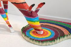 Colorful, Nature-Inspired Sculptures Made Out of Crayons - My Modern Metropolis