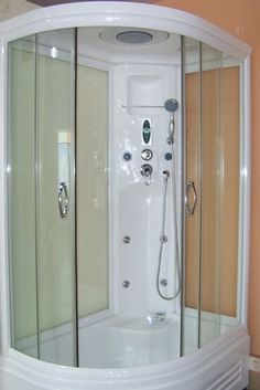 rainforest 61 steam shower unit with rainfall ceiling shower rather have this than a tub