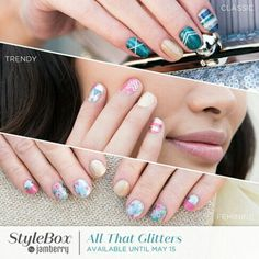 May Stylebox. Only available through subscription to stylebox. Order through 5/15/2016 https://itsajamparty.jamberry.com/us/en/