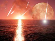Meteoritbecsapódások hatására radioaktív folyamatok mentek végbe ezáltal a föld felszíne felhevült