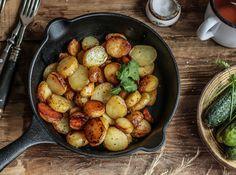 πατάτες με θυμάρι,δεντρολίβανο και σκόρδο,Συρίγος Πέτρος