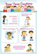 Temizlik Kuralları - Afiş