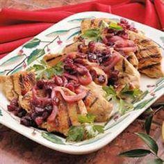 Gestoofde kalkoenfilet met cranberry @ allrecipes.nl