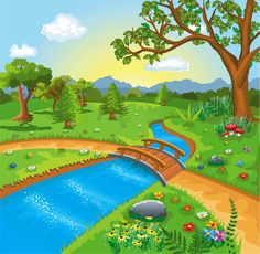 Scenery Background, Background Clipart, Cartoon Background, Background Pictures, Photo Frame Wallpaper, Framed Wallpaper, Art Drawings For Kids, Drawing For Kids, Blog Backgrounds