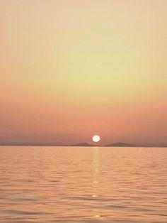 tramonto nel Golfo di Patrasso