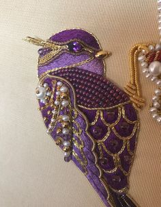 VK is the largest European social network with more than 100 million active users. Pearl Embroidery, Hand Work Embroidery, Shirt Embroidery, Embroidery Fashion, Silk Ribbon Embroidery, Hand Embroidery Designs, Embroidery Stitches, Embroidery Patterns, Gold Work
