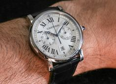 Cartier Rotonde Chronograph Watch Review