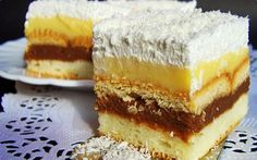Romanian Food, Food Cakes, Sweet Cakes, Appetizers For Party, International Recipes, I Foods, Vanilla Cake, Cheesecakes, Cake Recipes