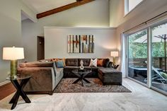 465 Contemporary Style Living Room Designs | FurnitureX.net