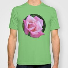 Pink Rose T-shirt by Brittney Taylor - $22.00