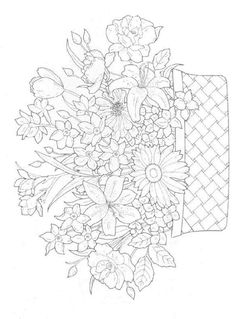 30 Coloring Pages Of Bouquets On Kids N Funcouk