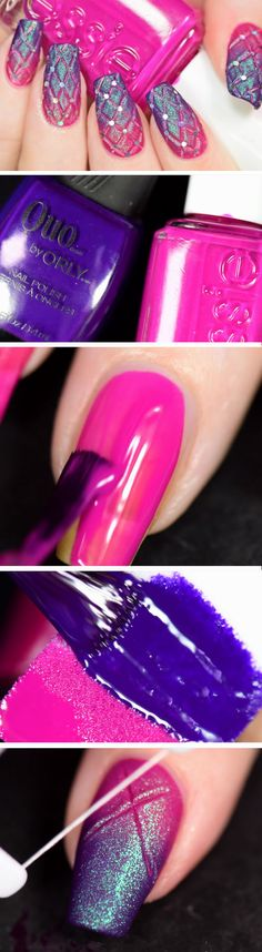 Quilted | Easy DIY Matte Nails Design Ideas for 2017
