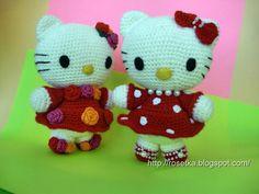 Розетка вяжет • Просмотр темы - Мастер-класс по вязанию амигуруми Hello Kitty