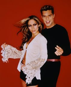 Ricky Martin And Jennifer Lopez