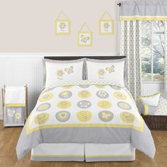 Sweet Jojo Designs Mod Garden Comforter Set