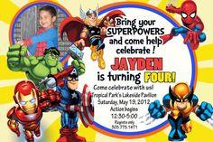 "Photo 3 of 8: Marvel Superheroes Squad / Birthday ""Jaydens 4th b-day"" | Catch My Party"