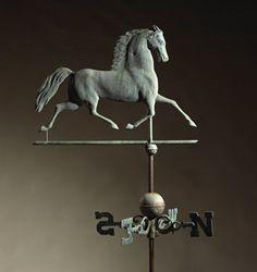 Running Horse Weathervane.   Maker: Harris & Co., Boston, Mass. Circa 1868-1881.
