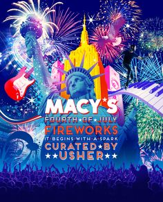 Macy's 4th of July Fireworks Spectacular   This is the 37th year Macy's has put on fireworks over New York, but ...