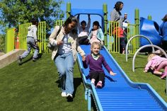 The nation's most inclusive playground for kids of all abilities is right here in the Bay Area: think wheelchair-accessible tree houses, signs in braille, bucket swings and so much more.