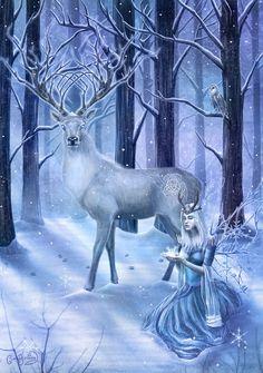 Frozen Fantasy by CLB-Raveneye.deviantart.com on @DeviantArt