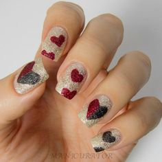 20 Modish and Stylish Valentines Nail Designs 2014 - Be Modish - Be Modish