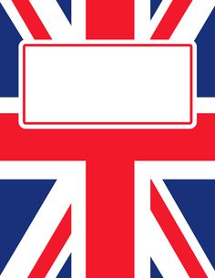 Free printable Union Jack binder cover template. Download the cover in JPG or PDF format at http://bindercovers.net/download/union-jack-binder-cover/