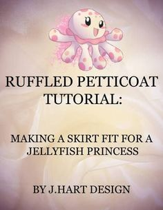 Honestly, this works for any full petticoat design, and it comes out beautiful!
