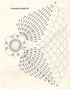 Crochet & Tatting & Scrap: Bombeczka Basi i coś jeszcze . Crochet Mandala Pattern, Vintage Crochet Patterns, Crotchet Patterns, Crochet Motifs, Crochet Designs, Crochet Doilies, Crochet Christmas Decorations, Christmas Crochet Patterns, Crochet Ornaments