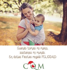 """Campaña #Navidad 2014: """"CQM un regalo desde el Corazón"""" ♥ #Babywearing #Porteo #CQM #CrianzaEnBrazos"""