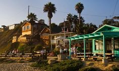 Few places are as synonymous with the beach as California, but staying on it can be expensive. Anna Stothard picks 10 affordable and brilliantly located beach pads, from campsites and cabins to budget inns