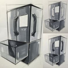 64 New Ideas Design Sketch Marker Id Design, Sketch Design, Design Ideas, Interior Sketch, Interior Design Studio, Sketching Techniques, Best Refrigerator, Industrial Design Sketch, Brochure Design Inspiration