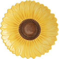 sunflower ceramic plates - Buscar con Google