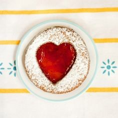 Linzer cookies with almond and strawberry filling