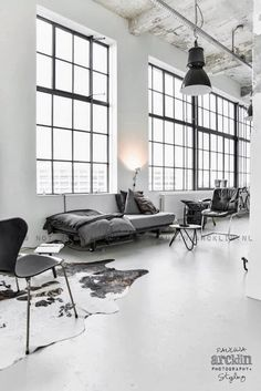 industrial loft in the Netherlands | Out of the blue