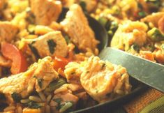 Easy leftover turkey recipe - Turkey Jambalaya. Must try this!