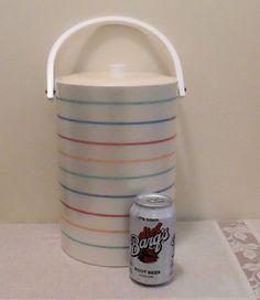 Mid Century Georges Briard Vinyl Signed Ice Bucket by DreamMakerFinds