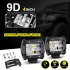 2X 4INCH 36W LED WORK LIGHT BAR DRIVING FLOOD BEAM SUV ATV UTE JEEP TRUCK PODS