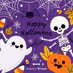 Halloween Illustration, Cute Illustration, Graphic Design Illustration, Fröhliches Halloween, Halloween Vector, Halloween Tricks, Halloween Designs, Halloween Images, Halloween Backgrounds